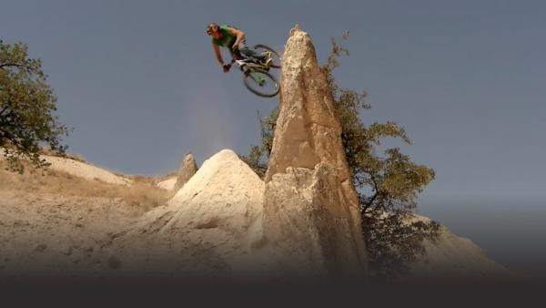 Cam McCall wall riding.