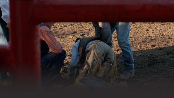 Injuries can most certainly happen while bull riding.