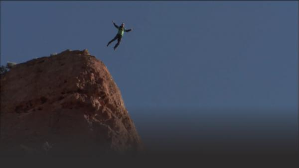 BASE jumping off the biggest cliffs.