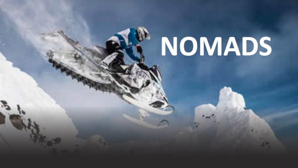 Nomads Snowmobile to the Edge