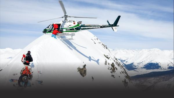 Extreme Skiing and snowboarding in Jackson Hole