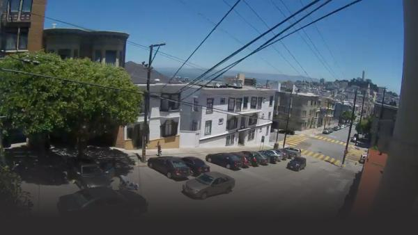 A brazen armed robbery shapes up in San Francisco