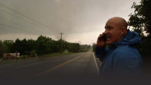 Storm chaser Jim Cantore