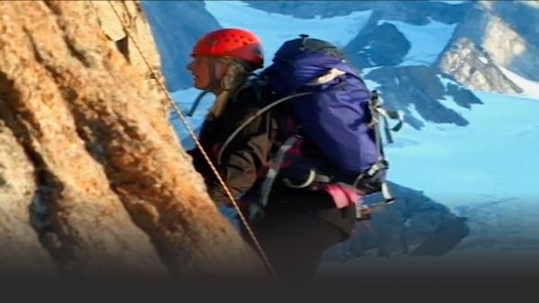 Sue is one of Britians top mountain climbing instructors.